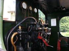 South Devon Railway (Buckfastleigh) GWR Pannier Tank 1366 class 1369 (cab)
