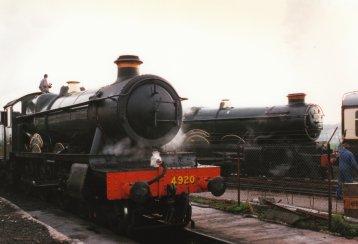 030 - Bishops Lydeard - 49xx Hall Class 4920 Dumbleton Hall & 4073 Castle Class 7029 Clun Castle