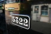 Watercress Railway - Alresford - 43xx class - 5322 numberplate