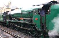 2012 - Watercress Railway - Alresford - Southern Locomotive - 850 Lord Nelson