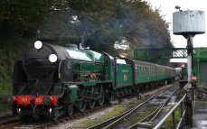 2012 - Watercress Railway - Ropley - Southern Locomotive - 850 Lord Nelson