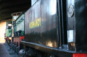 Bluebell Railway - Sheffield Park - LSWR B4 96 Normandy & SER 01 Class 65