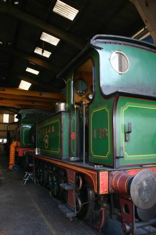 Bluebell Railway - Sheffield Park - SECR P class 178 & H class 263