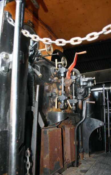2011 - Bluebell Railway - Sheffield Park - LSWR B4 - 96 Normandy (cab)