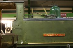 December 2012 - Isle of Wight Steam Railway - Havenstreet - Ex - LBSCR A1X terrier class - W8 Freshwater