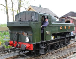 2013 - Kent and East Sussex Railway - Tenterden Town - GWR 16xx - 1638