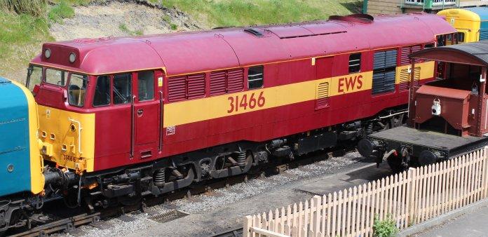 2013 - Swanage Railway - Swanage - Class 31 31466