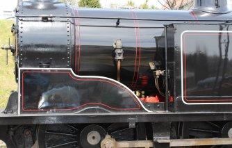 2013 - Swanage Railway - Swanage - Ex-LSWR M7 class - 30053 (BR lined late crest) sandbox splasher