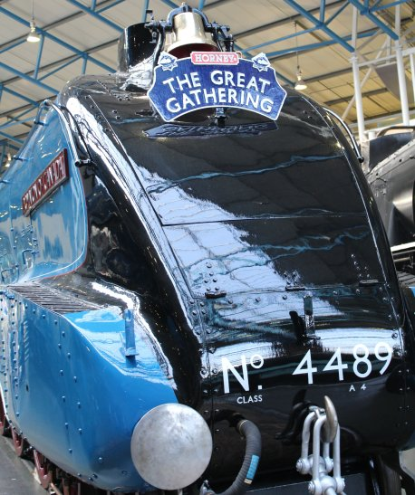 2013 National Railway Museum York - The Great Gathering - LNER A4 4489 Dominion of Canada