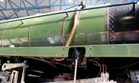 2013 National Railway Museum York - The Great Gathering - BR Standard 9F 92220 Evening Star copper pipe