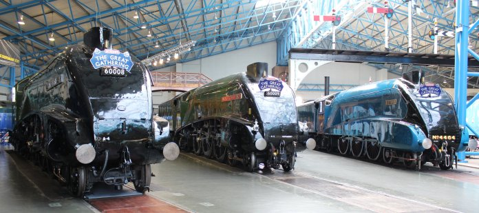 2013 National Railway Museum York - The Great Gathering - LNER A4 Pacifics