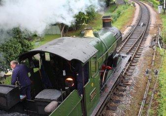 2013 South Devon Railway - Buckfastleigh - GWR 2251 Collett Goods Class - 3205