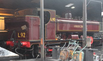 2013 South Devon Railway - Buckfastleigh - GWR 57xx 0-6-0PT (5786) (London Transport L.92)