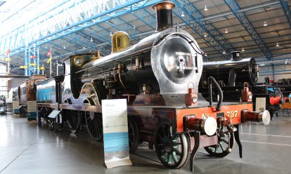 2013 National Railway Museum York - The Great Gathering - SECR D Class 4-4-0 737
