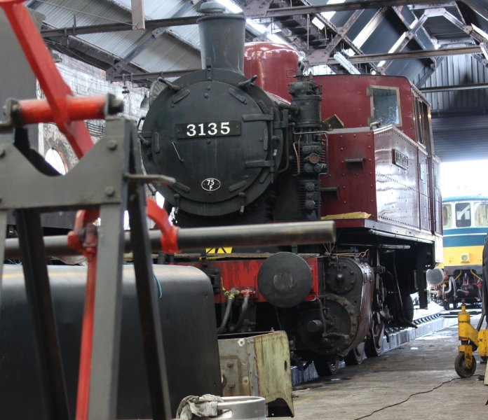 2013 Spa Valley Railway - Tunbridge Wells West - Polish TKH 3135 Spartan