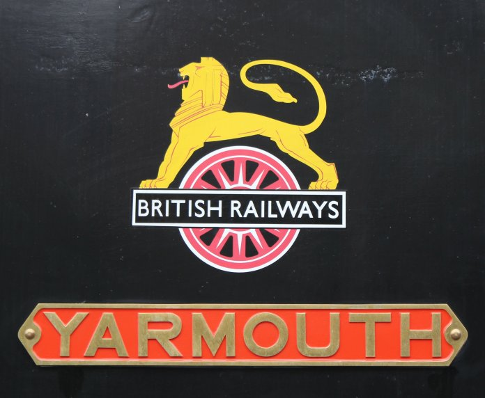 2013 - Isle of Wight Steam Railway - Havenstreet - Ex-LBSCR E1 class - 32110 Yarmouth nameplate