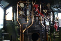 2013 National Railway Museum York - The Great Gathering - GWR King George V cab