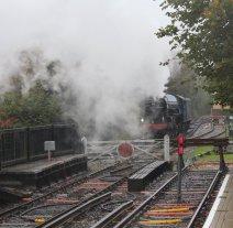 2013 Watercress Line Autumn Steam Spectacular - Alton - A1 class 60163 Tornado