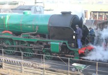 2014 - Watercress Line - Spring Steam Gala - Ropley - Merchant Navy Class - 850 Lord Nelson