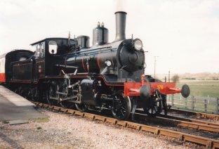 Locoyard - Norwegian class 21c - 376 (1995 - Kent & East Sussex Railway Northiam) 04