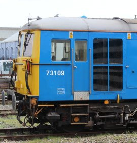 Eastleigh - April 2014 - Class 73 73109 (GB Railfreight)