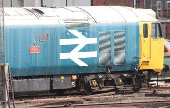 Eastleigh - April 2014 - Class 50 - 50011 Hood