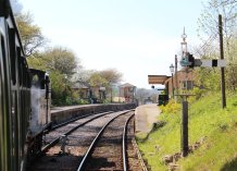 2014 - Swanage Railway - Harmans Cross - Ex-LSWR M7 class - BR 30053