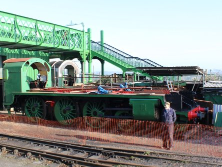 2014 - Watercress Line - Spring Steam Gala - Ropley - S15 class - 828