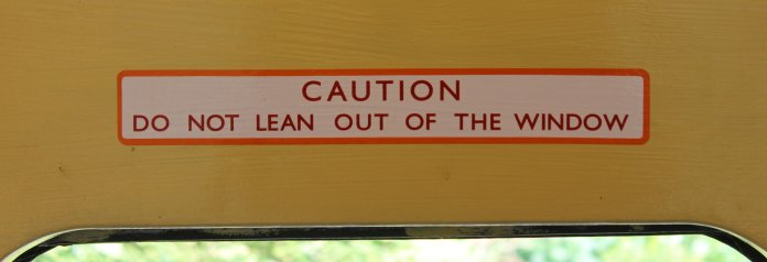 2014 - Watercress Railway - CAUTION So No Lean Out Of Window - Class 205 DEMU Hampshire Unit Thumper 1125