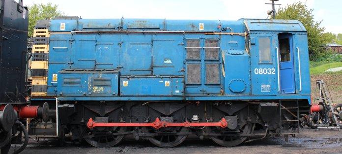 2014 - Watercress Railway - Ropley - Class 08 - 08032 Gronk