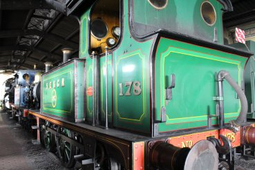 2014 Bluebell Railway - Sheffield Park - SECR P class - 178