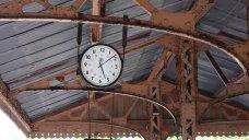 2014 Paignton and Dartmouth Steam Railway - Kingswear - GWR clock