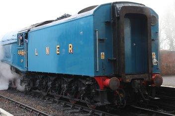 Mid Hants Railway Spring Steam Gala 2015 Ropley - LNER A4 Class 4464 Bittern corridor tender