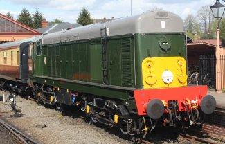 2015 - Severn Valley Railway Kidderminster - BR class 20 D8059