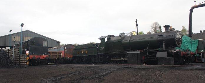 2015 - Severn Valley Railway Bridgnorth - GWR 28xx 2-8-0 2857