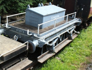 South Devon Railway Staverton July 2015 - GWR shunter's truck 41873
