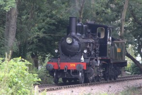 Kent and East Sussex Railway Tenterden August 2015 (06) 2-6-0 mogul 21C class Norwegian State Railways (Norwegian Norges Statsbaner AS) 376 (19) Norwegian