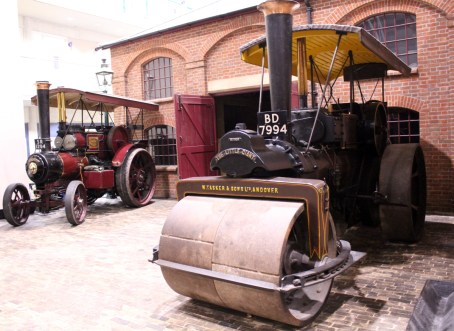 Milestones Museum traction engine steam roller 7th November 2015