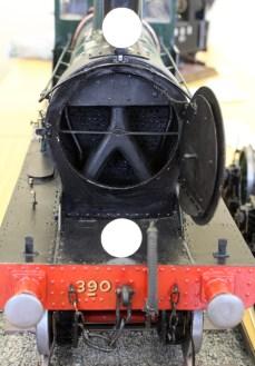 EG Best cardboard models (4) LSWR 380 class no 390A smokebox