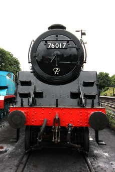 Ropley Watercress Line July 28th 2016 (10) BR Standard 4MT 2-6-0 76017