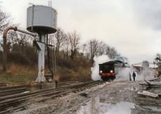 Watercress Line Mid Hants Railway 1990s (3) Ropley Urie S15 class 30506