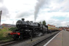 Severn Valley Railway Kidderminster July 2016 Ivatt 4MT 2-6-0 43106 mucky duck (09)