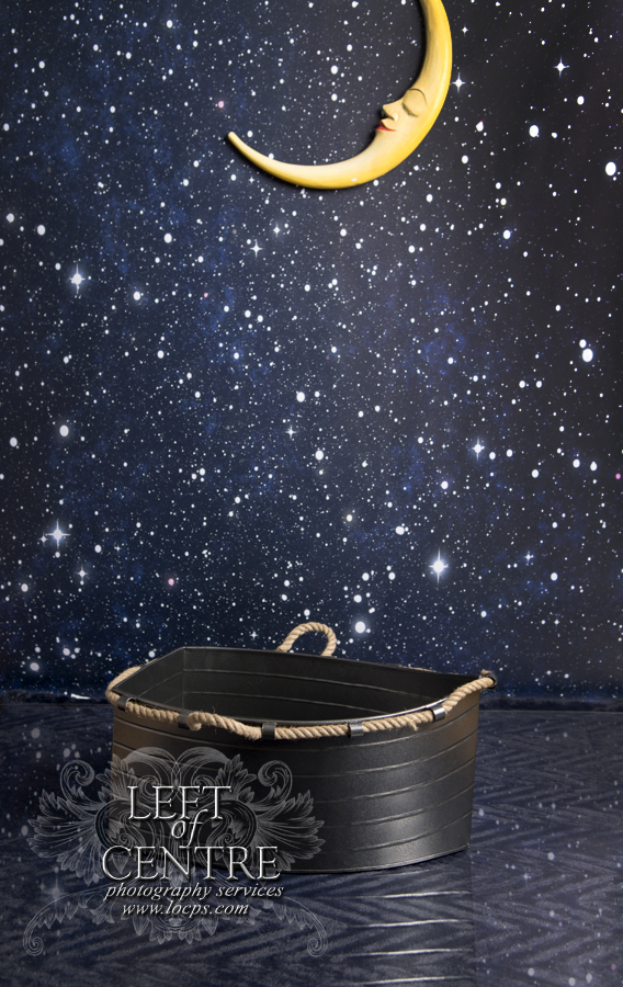 Star Background with Boat