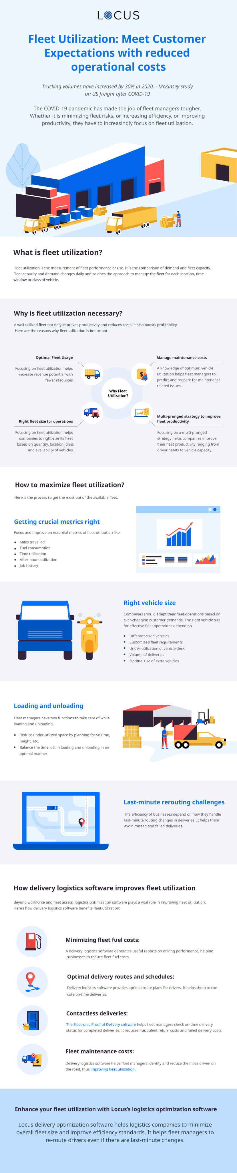 [Infographics] Maximize Fleet Utilization for Cost Reduction