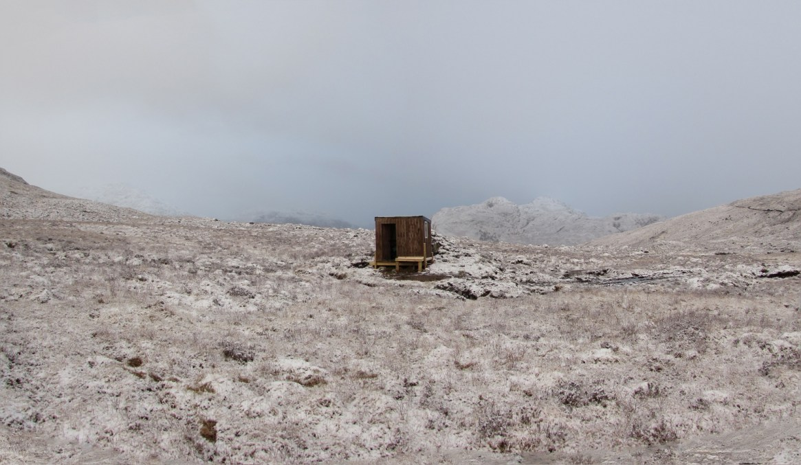 Shed at Coire Reidh © Lodewijk Muns 2016