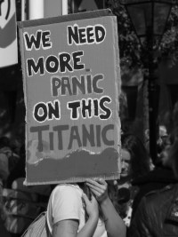 WE NEED MORE PANIC ON THIS TITANIC
