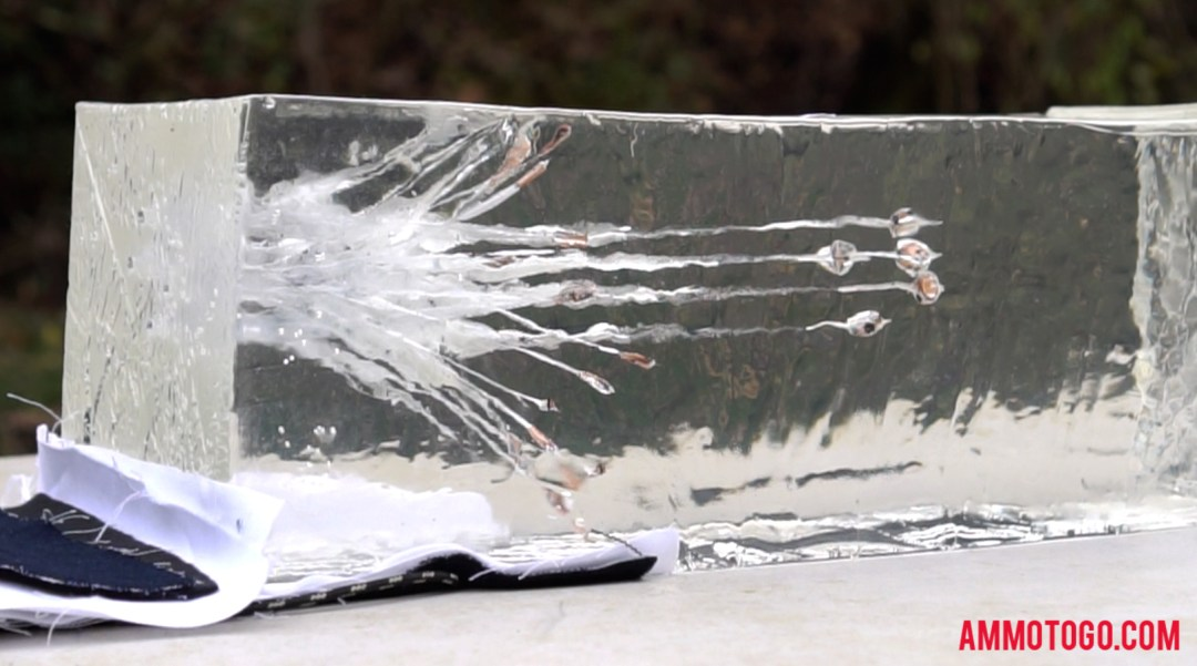 Firing rounds into ballistic gel to determine the best ammo for self-defense