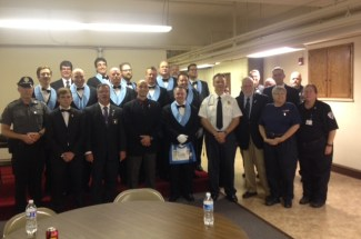 Thumbnail for the post titled: Lodge No. 43 Honors the First Responders