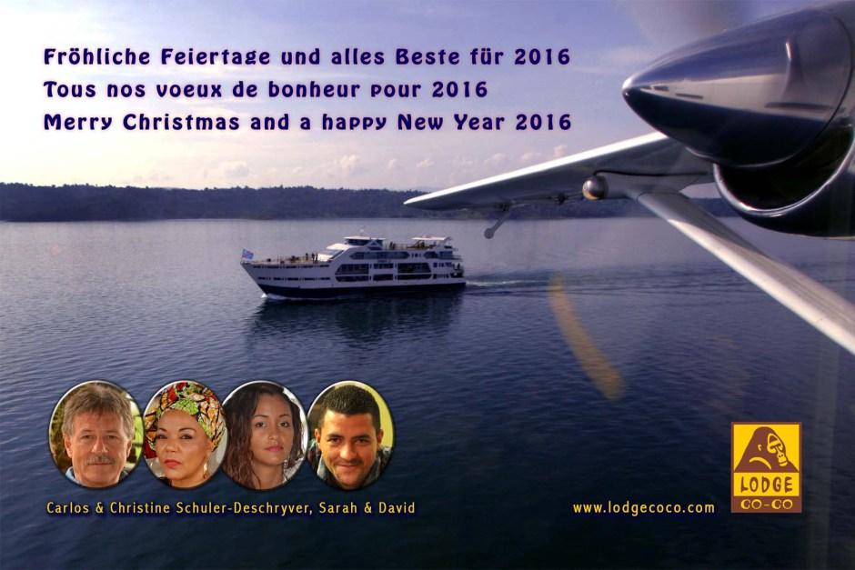 Neujahr 2016 komprimiert