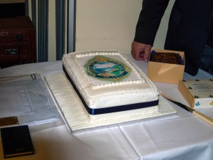 The Lodge of Happiness Cake - prepared by Bro. Phil Williams